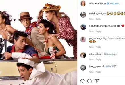 """Cei şase actori din serialul """"Friends"""" se reunesc pentru un episod special pe HBO Max"""