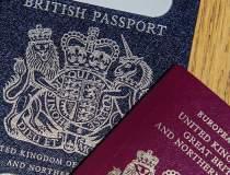 După Brexit, paşapoartele de...