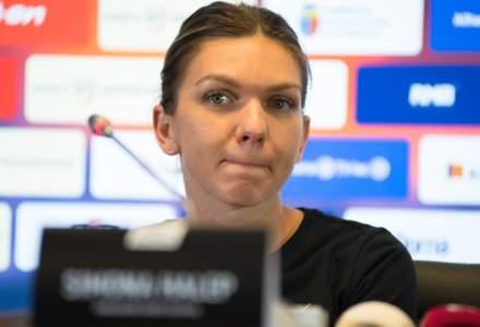 Simona Halep s-a retras din turneul de tenis de la Doha