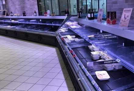 CORONAVIRUS| Cum arată un magazin din Italia dintr-o zonă de la sute de kilometri distanță de focar