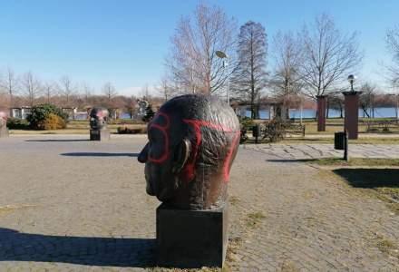 Monumentul Uniunii Europene din Herăstrău, vandalizat de extremiști