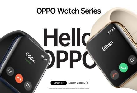 Noul smartwatch al Oppo e aproape identic cu Apple Watch