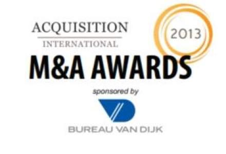 Capital Partners, printre castigatorii premiilor M&A 2013 ale revistei Acquisition International