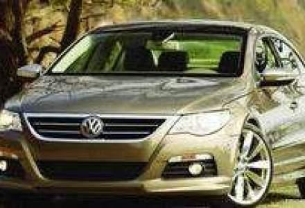 VW Passat CC, tinta de vanzari de 1.000 unitati pe plan local in 2009