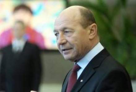 Basescu, despre recensamant: Populatia scade ca urmare a natalitatii scazute