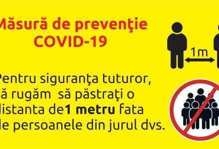 Carrefour anunță măsuri pentru evitarea aglomerării în magazine: dezinfecție, afișe informative