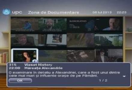 UPC lanseaza o aplicatie TV interactiva ce permite vizualizarea mai multor canale in mini-ferestre