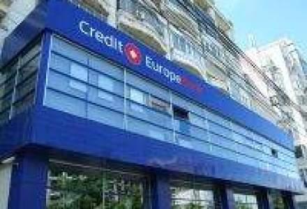 "Credit Europe Bank recomanda clientilor sa isi ""revizuiasca planurile de creditare"""