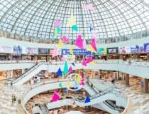 Două mall-uri din București...