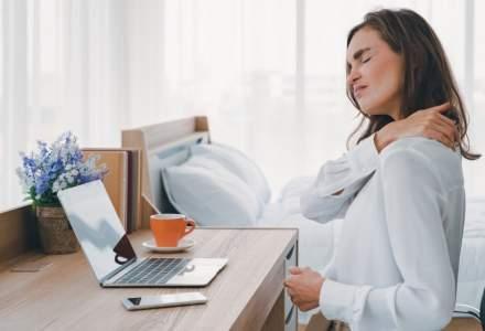 """Și munca """"de acasă"""" poate dăuna sănătății: 5 sfaturi pentru un mediu de lucru ergonomic"""