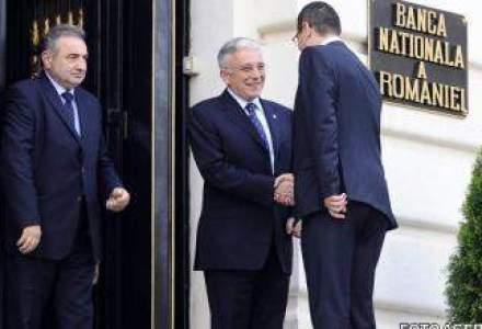 Intalnire de gradul ZERO la Guvern: Isarescu, Ponta si Lagarde discuta soarta economiei romanesti