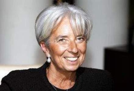 Lagarde sustine aderarea la euro dupa finalizarea reformelor structurale si consolidare