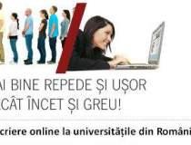 Inscrieri online: viitorii...