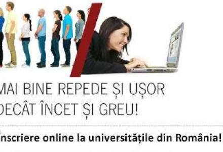 Inscrieri online: viitorii studenti se pot inscrie pe Internet la cinci universitati din tara