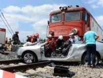 Barbatul ucis de tren la...