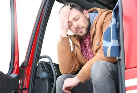 Peste 2.000 de șoferi de camioane sunt zilnic puși în autoizolare pentru 14 zile