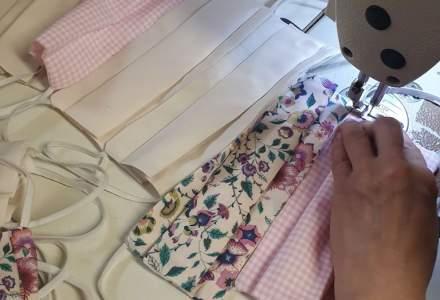 Coronavirus | Atelierele de croitorie s-au reprofilat și confecționează măști de protecție. Unele dintre ateliere oferă gratuit măștile pentru cadrele medicale