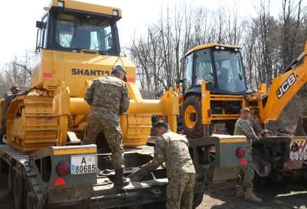 Armata a început construirea unui spital: în 5 zile va fi operațional din punct de vedere administrativ