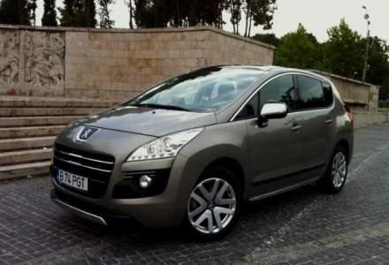 Test Drive Wall-Street: Peugeot 3008 HYbrid4, consum extraurban in oras