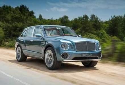 Bentley va produce cel mai scump SUV din lume: pretul viitorului autoturism porneste de la 180.000 euro