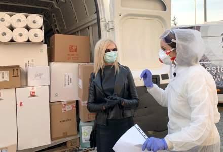 Coronavirus | Top Line a donat produse de 30.000 de euro campaniei de sprijinire a autorităților în lupta contra COVID-19