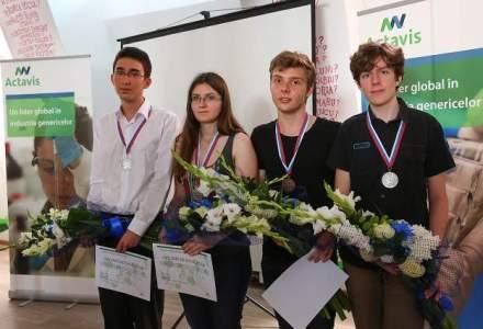 Medaliatii Olimpiadei de Chimie vor primi pana la 1.500 de euro