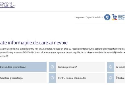 A doua soluție digitală împotriva coronavirus: CeMaFac.ro