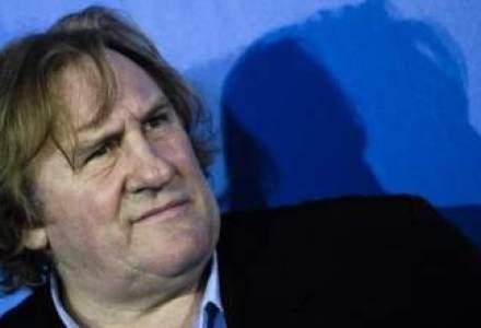 Gerard Depardieu filmeaza la Paris o productie inspirata din fotbal