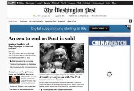 The Washington Post, singurul ziar care a dus la demisia unui presedintele al SUA, vandut fondatorului Amazon