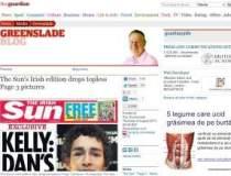 Editia irlandeza a The Sun...