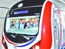 Prima linie de metrou care...