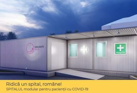 Coronavirus | Asociația Dăruiește Viață, donatorii, sponsorii și partenerii săi ridică un spital modular la Spitalul Elias
