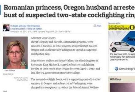 Principesa Irina, fiica regelui Mihai, a fost arestata in SUA