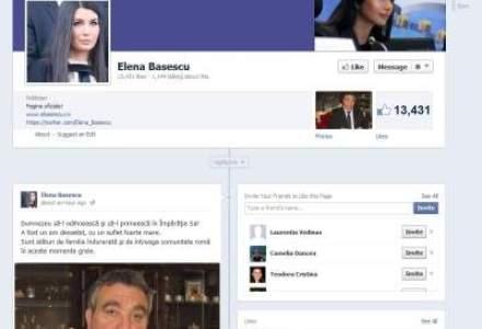 Elena Basescu: Florin Cioaba a fost un om deosebit, cu un suflet foarte mare
