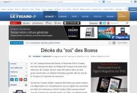 Presa franceza scrie despre decesul lui Florin Cioaba