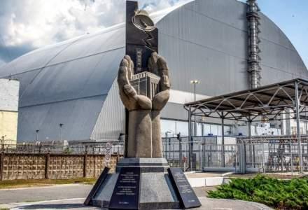 Incendiu de pădure în zona de excludere de la Cernobîl