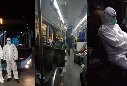 STB transportă românii din diaspora de la Otopeni în toate județele țării