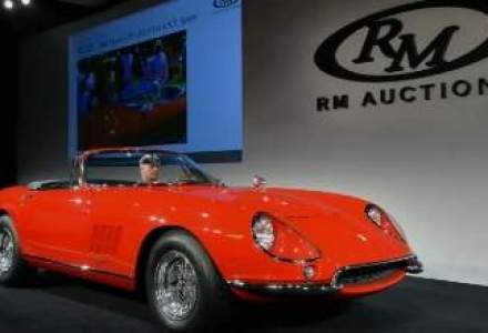 Un Ferrari NART Spyder din 1967, vandut pentru suma record de 27,5 mil. dolari