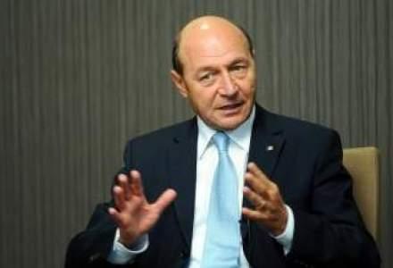 Basescu: Exportul graului cu 147 euro tona este export de subventie