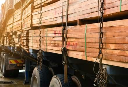 Bistriţa-Năsăud: Al treilea transport ilegal de cherestea, în zece zile