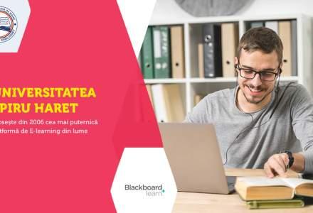 (P) Universitatea Spiru Haret a introdus în România cea mai puternică platformă de E-learning din lume, încă din 2006