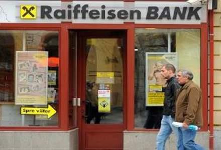 Profitul Raiffeisen Bank a urcat cu 20% in S1