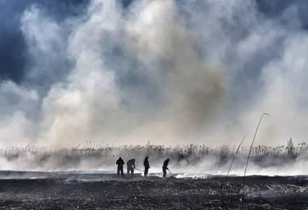 Ce se întâmplă cu norul de fum din zona Periș: explicația Administrației Naționale de Meteorologie