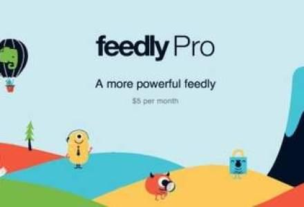 Feedly lanseaza versiunea Pro a serviciului de citit RSS-uri: ce facilitati ofera?