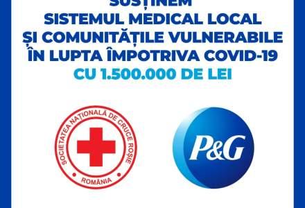 Covid-19 | Procter & Gamble România donează 1,5 milioane de lei către Crucea Roșie