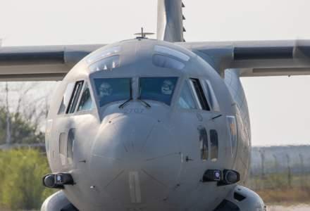 MApN: 100.000 de combinezoane de protecție vor fi aduse de Forțele Aeriene Române din Germania