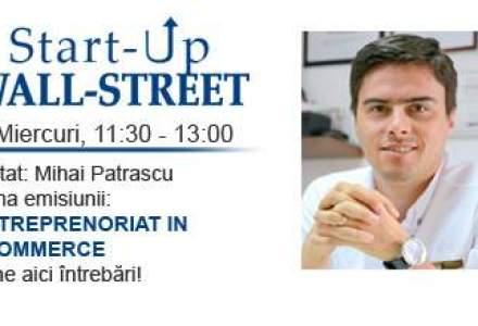 Mihai Patrascu, fondatorul Evomag, vine la Start-Up Wall-Street. Adreseaza-i intrebarile tale aici