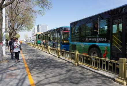 Autobuzele vor avea voie să circule pe liniile de tramvai - modificare Cod rutier