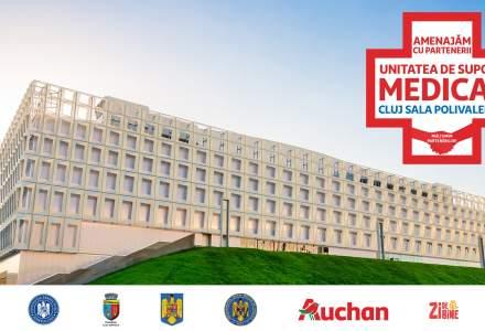 Coronavirus | Auchan pregătește al doilea centru de suport medical, la Cluj-Napoca