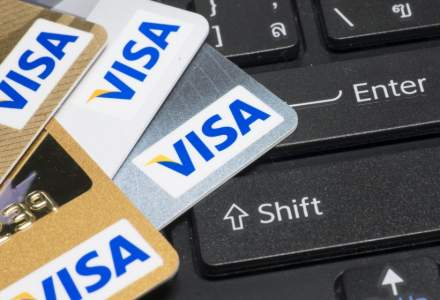 Visa: Sumele plătite de români cu cardul au crescut cu 10% în martie